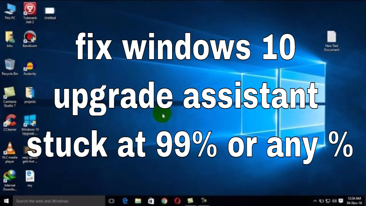 What to do if Update Assistant stuck downloading Windows 10 April
