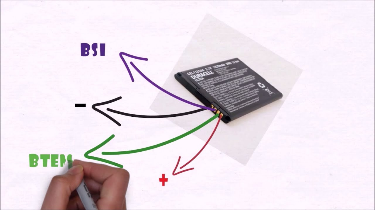 Pin Functions Of 2  3 And 4 Terminal Mobile Batteries
