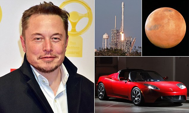 Elon Musk Sends Tesla Car To Space In Style