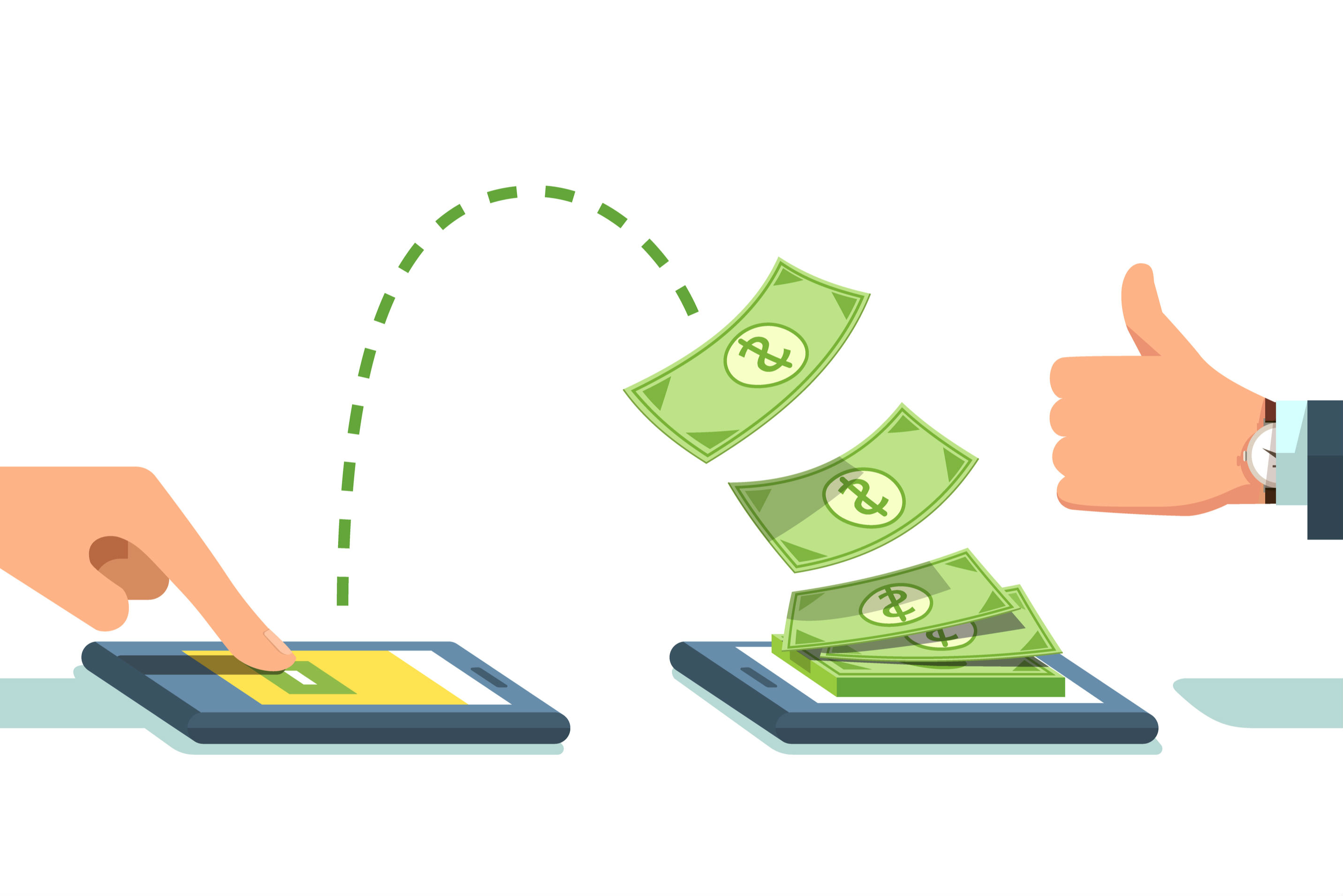 Transfer Money Without A Processing Fee