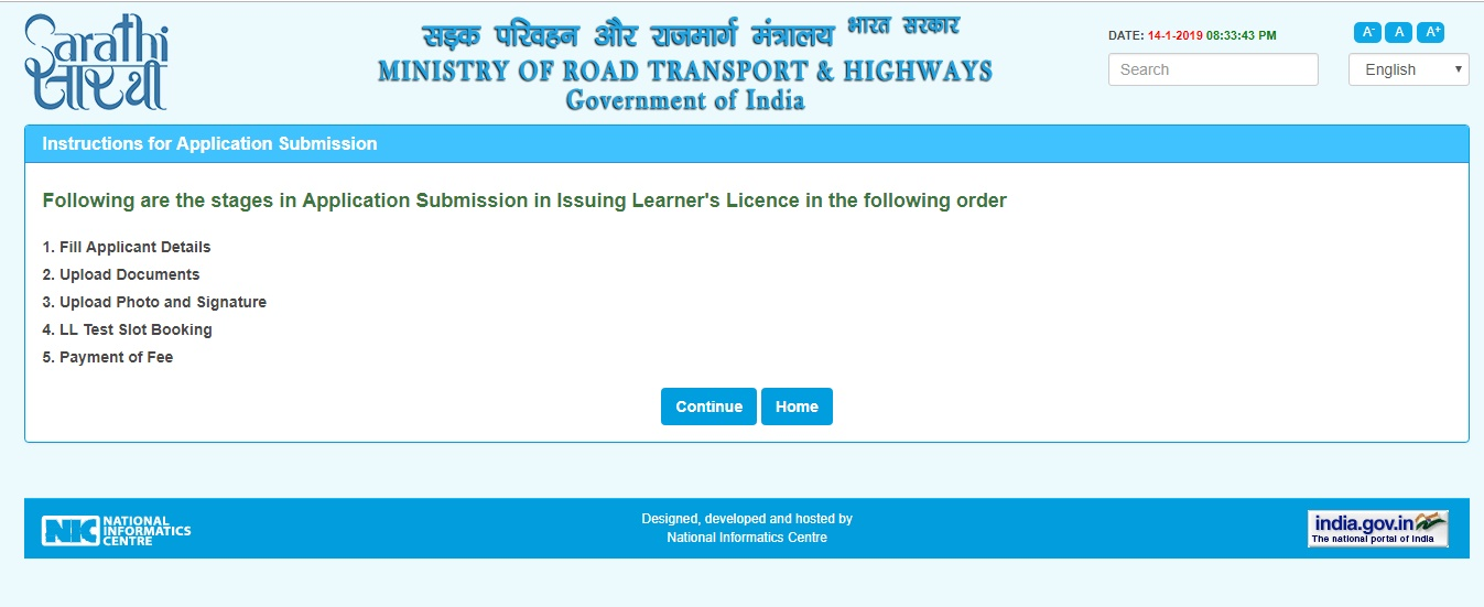 How to apply for Learners Driving License in India?