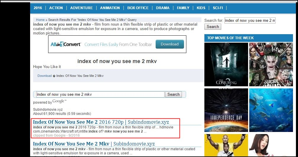 How To Find Direct Download Link To Any Movie Index Of Movies