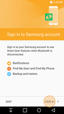 How to connect Samsung S3 gear to your android phone?