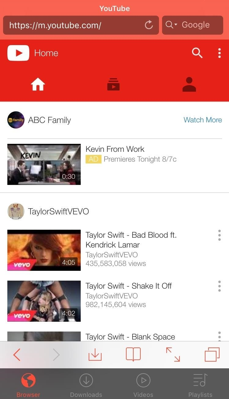 youtube download apk ios